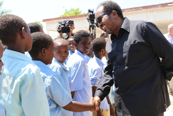 """Somalia will soon ratify the International Convention on Children's Rights"""