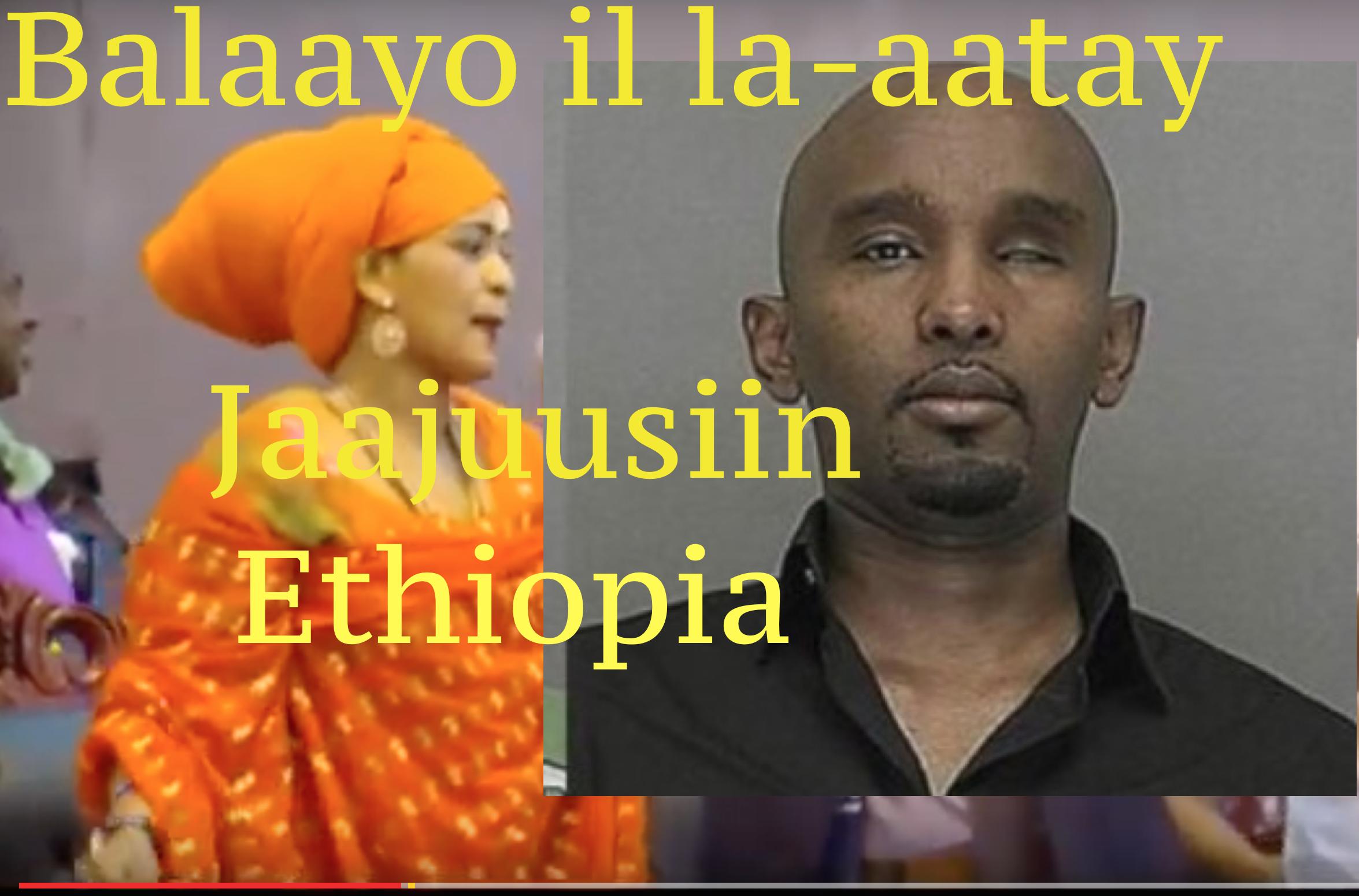 Daawo Fanaaniin noqday Jaajuusiin Ethiopia oo hees ugu gefay Calanka Somalia ?
