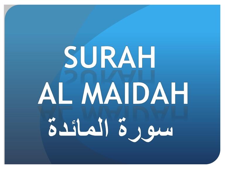Akhri Surah  Al-Maeda#5 - Quran Kareem
