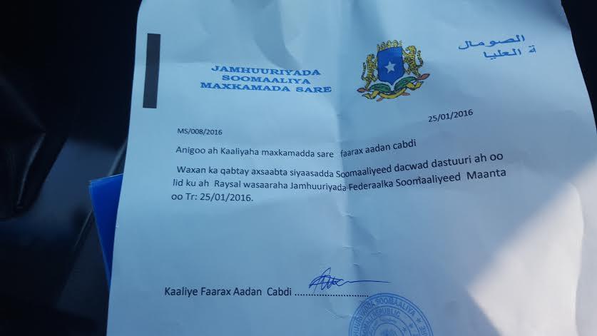 Topnews:- Xisbiyadda Mucaaradka oo ku guuleeystay in la Maxkamadeeyo Ra'isulwasaaraha Somalia oo todobaadkaan Maxkamadda hortegi doono ?
